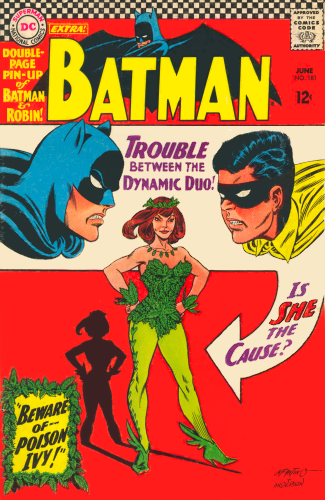 poison ivy batman costume. Poison Ivy - Batman #181 (1966